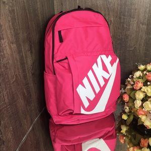 ❤️ Nike Elemental Backpack 25L pink/black/white